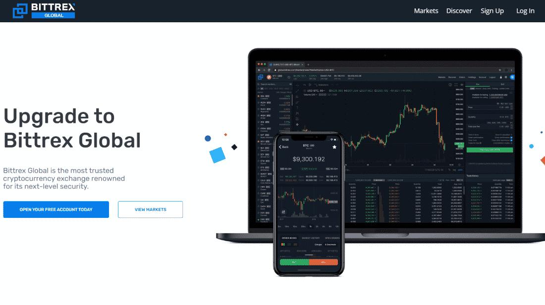 Bittrex Review 2020 fees and deposit methods
