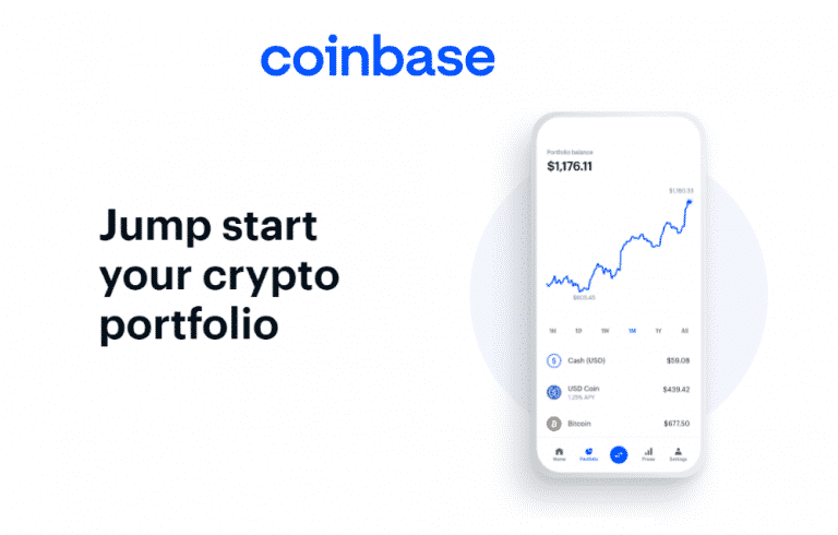 Coinbase review feature image screenshot from coinbase com